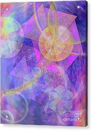 Blue Expectations Acrylic Print by John Beck