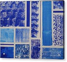 Blue Expo Acrylic Print