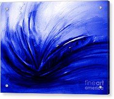 Blue Expression Acrylic Print