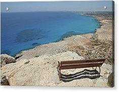 Blue Eye Of Cyprus  Acrylic Print