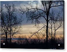 Blue Eye Sunrise Acrylic Print