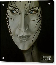 Blue-eyed Girl Acrylic Print