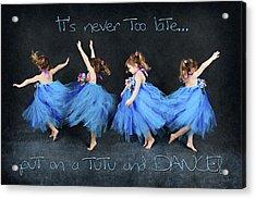 Blue Fairy Acrylic Print