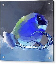 Blue Fish Acrylic Print