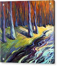 Blue Forest Acrylic Print