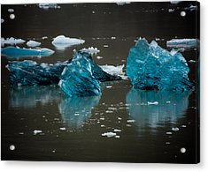 Blue Gems Acrylic Print