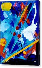 Blue Harmony  #128 Acrylic Print by Donald k Hall