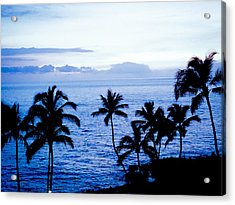 Blue Hawaii Acrylic Print