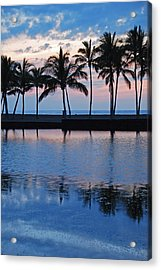 Blue Hawaiian Acrylic Print by Kelly Wade