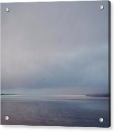 Acrylic Print featuring the photograph Blue Haze by Sally Banfill