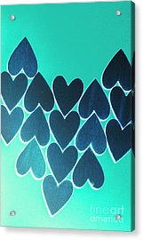 Blue Heart Collective Acrylic Print
