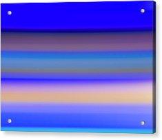 Blue Hour Acrylic Print