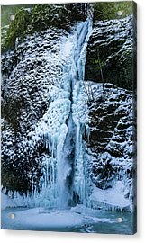 Blue Ice And Water Acrylic Print