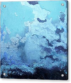 Blue Is  Taking Over The World Acrylic Print by Joseph Demaree
