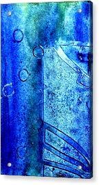 Blue Iv Acrylic Print by John  Nolan