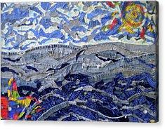 Blue Jean Beach Acrylic Print