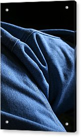 Blue Jeans 0261 Acrylic Print by Steve Augustin