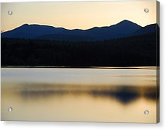 Blue Lake Acrylic Print by AnnaJanessa PhotoArt