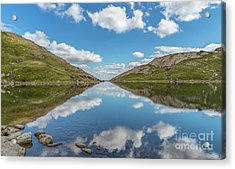 Blue Lake Of Snowdonia Acrylic Print