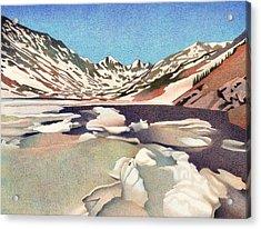 Blue Lakes Colorado Acrylic Print
