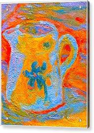 Blue Life Acrylic Print