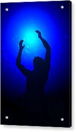 Blue Light Special Acrylic Print