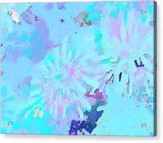 Blue Love Acrylic Print