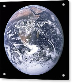Blue Marble - Image Of The Earth From Apollo 17 Acrylic Print