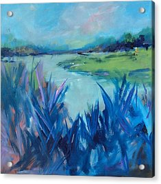 Blue Marsh Acrylic Print
