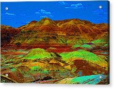 Blue Mesa Dreaming Acrylic Print