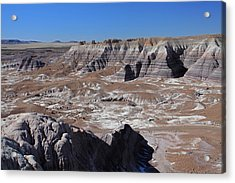 Acrylic Print featuring the photograph Blue Mesa by Gary Kaylor
