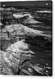 Blue Mesa Outcrop Acrylic Print