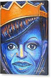 Blue Michelle Acrylic Print