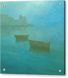 Blue Mist At Erbalunga Acrylic Print