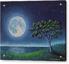 Blue Moon 01 Acrylic Print