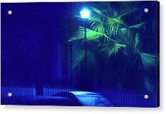 Blue Morning Acrylic Print by Glenn Gemmell