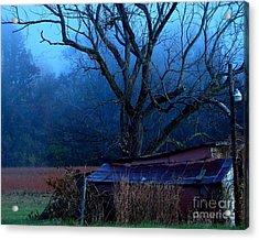 Blue Morning Acrylic Print by Misha Bean