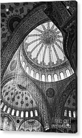 Blue Mosque Acrylic Print by Leslie Leda