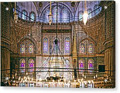 Blue Mosque Of Istanbul Acrylic Print