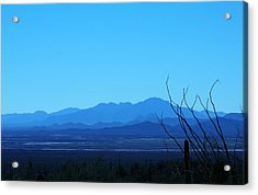 Blue Mountain Acrylic Print