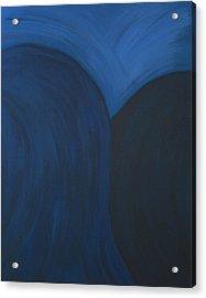 Blue No. 1 Acrylic Print by Karen Fowler