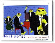 Blue Notes Acrylic Print