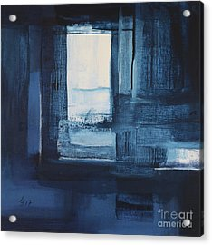 Blue Nuance II Acrylic Print by Christiane Schulze Art And Photography
