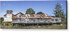 Acrylic Print featuring the photograph Blue Ox Millworks by Jon Exley
