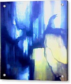 Blue Patterns Acrylic Print