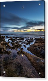 Blue Acrylic Print by Peter Tellone