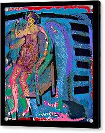 Blue Piano  Acrylic Print