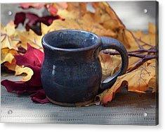 Blue Purple Mug Acrylic Print