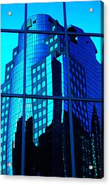 Blue Reflections ... Acrylic Print by Juergen Weiss