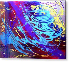 Blue Reverie Acrylic Print by Mordecai Colodner